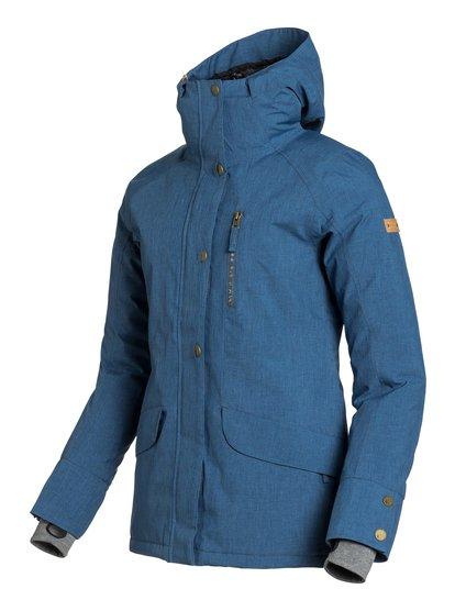 AndieЖенская сноубордическая куртка Andie из сноубордической коллекции Roxy. ХАРАКТЕРИСТИКИ: критические швы проклеены, капюшон с регулировкой, фиксированный капюшон, противоснежная юбка из тафты, система прикрепления штанов к куртке. СОСТАВ: 100% полиэстер.<br>