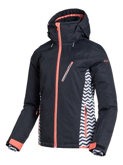 SassyЖенская сноубордическая куртка Sassy из сноубордической коллекции Roxy. ХАРАКТЕРИСТИКИ: съемный капюшон, капюшон с регулировкой, капюшон совместим со шлемом, съемный капюшон, противоснежная юбка из тафты. СОСТАВ: 100% полиэстер.<br>