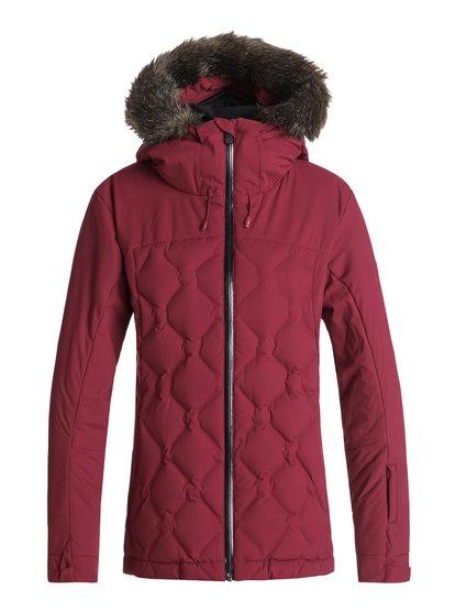 Breeze - Veste de snow matelassée pour Femme - Rouge - Roxy