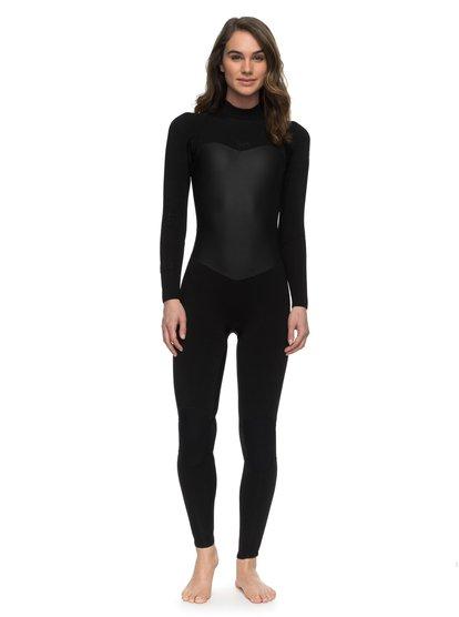 3/2mm Satin - Combinaison de surf intégrale pour Femme - Noir - Roxy