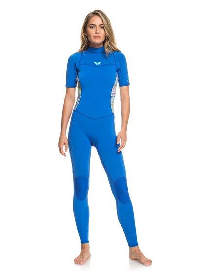2mm Syncro Series - Combinaison de surf à manches courtes pour Femme - Bleu - Roxy