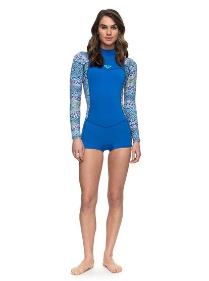 2mm Syncro Series - Springsuit à manches longues pour Femme - Bleu - Roxy