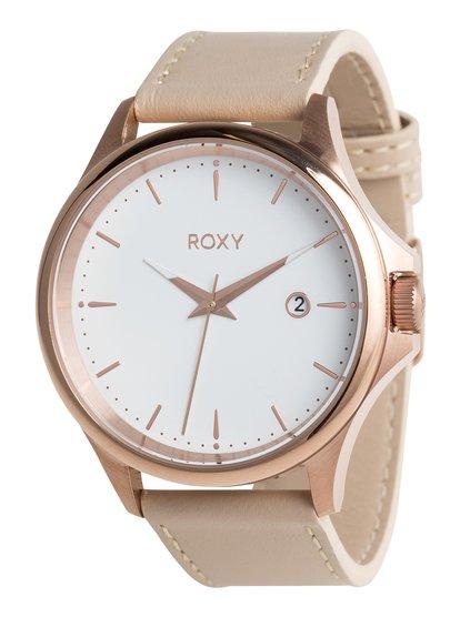 Messenger Leather - Montre analogique pour Femme - Rose - Roxy