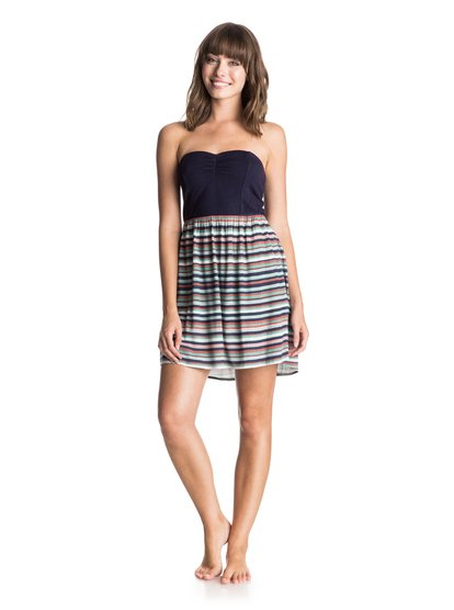 Sleep To Dream Tank DressЖенское платье-майка Sleep To Dream от ROXY.ХАРАКТЕРИСТИКИ: узкие облегающий фасон, свободная лямка, длина 67 см (размер S).СОСТАВ: 100% вискоза.<br>