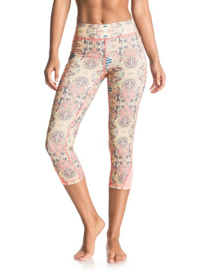 Imanee Printed - Sports Capri Pants  ERJWP03008