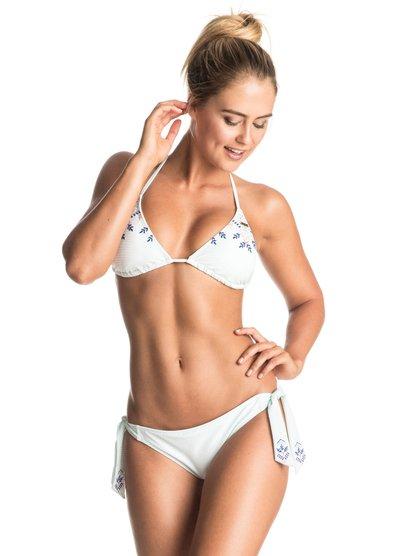 Delicate Touch - Tri Bikini Set  ERJX203174