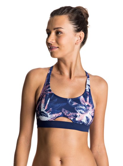 Keep It ROXY - Sporty Bra Bikini Top  ERJX303399