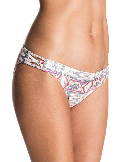 Women's Sunset Bay 70s - Bikini Bottoms for Women - White - Roxy