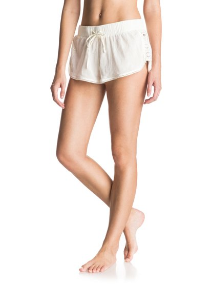 Шорты Soft Crochet Roxy Soft Crochet Cover Up Shorts