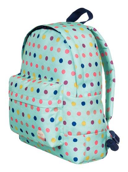 Небольшой рюкзак Day DreamingЛюбая прогулка превратится в приключение, когда у девочки за плечами такой рюкзак. Украшенный радужным горохом, он отличается идеальным для ребенка размером (9,5 литра) и пропорциями.<br>