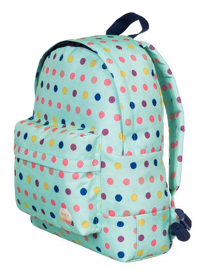Day Dreaming - Small BackpackIts fun on a mission with this beach-glass blue backpack for girls. Complete with rainbow dots for a design thats as cute as it is functional, the easy-to-carry 9.5 L volume makes the Day Dreaming the perfect partner for little adventures. <br>