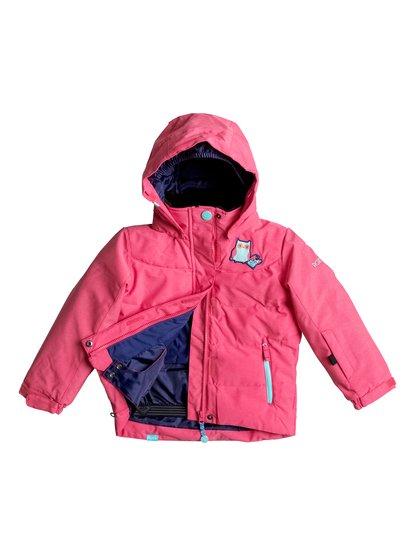 Сноубордическая куртка AnnaСноубордическая куртка Анна для девочек с утеплителем Warmflight® Polyfill, водостойкой и дышащей мембраной ROXY DryFlight® 10K и остальными важными характеристиками, обеспечат вашему ребенку море счастливых приключений в горах.<br>