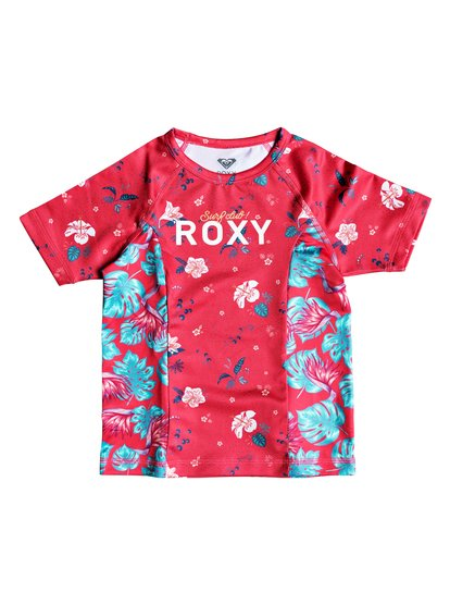 Simply ROXY - Lycra manches courtes UPF 50 pour Fille - Rose - Roxy