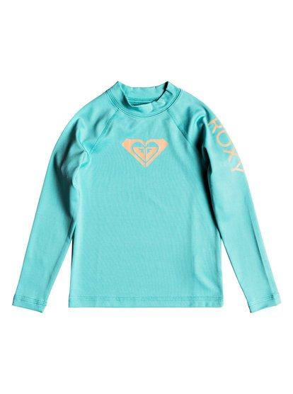Whole Hearted - Lycra manches longues UPF 50 pour Fille - Bleu - Roxy