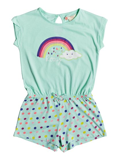 Rainbow Dots - Beach Romper  ERLX603001