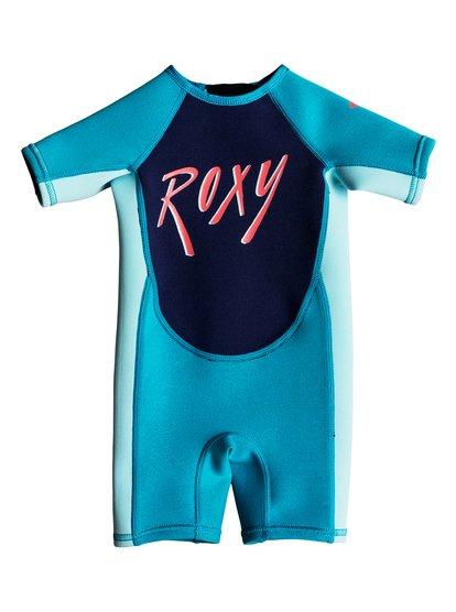 Imagem de 1.5mm Syncro - Short Sleeve Back Zip Springsuit - Azul - Roxy