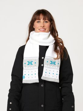 SWISS MISS SCARF White ARJAA00003