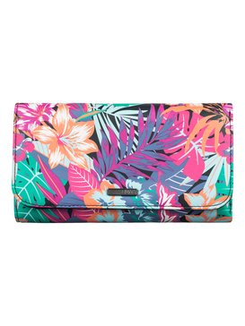 My Long Eyes - Printed Faux-Leather Wallet  ARJAA03103