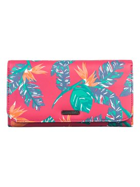 My Long Eyes - Printed Faux-Leather Tri-Fold Wallet  ARJAA03103