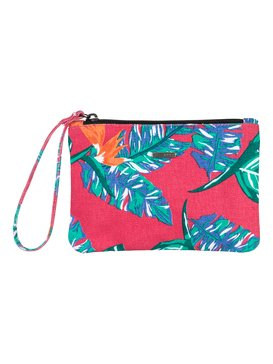 To The Beach - Printed Canvas Cosmetic Bag ARJAA03106