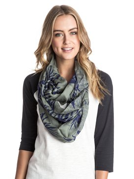 Care For Flair - Printed Infinity Scarf  ARJAA03114