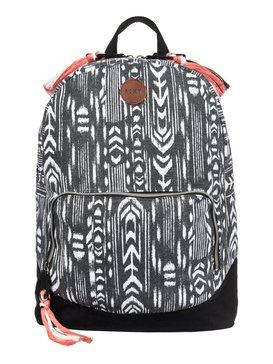 Primary - Printed Canvas Backpack  ARJBP03142