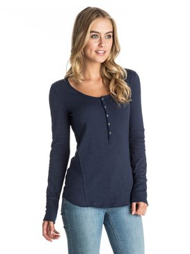Oar Else - Long Sleeve Henley Top  ARJKT03154