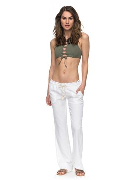 Oceanside - Flared Linen Trousers  ARJNP03006