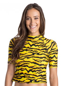 ROXY X House of Holland Tiger Rash Vest  ARJWR03051
