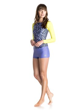 Dots on Dots Dawn Ride - Long Sleeve Springsuit Rash Vest  ARJWR03052