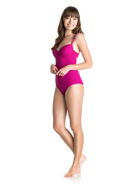 Underwire Bandeau One Piece - Swimsuit  ARJX103037