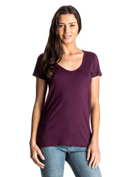 Lillia  - Scoop Neck T-Shirt  ARJZT03686