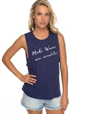 MAKE WAVES MUISCLE TANK  ARJZT04721