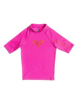 Roxy Love - Short Sleeve Rash Vest  ARLWR03015