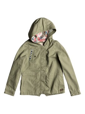 Heart Words - Military Parka  ERGJK03035