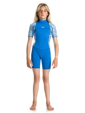2mm Syncro Series Back Zip FLT - Short Sleeve Springsuit  ERGW503004