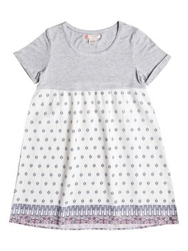 Branche Of Lilac - Short Sleeve Dress  ERGWD03032