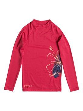 ALOHA ROXY LS GIRL Pink ERGWR03009
