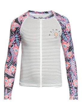 Sunset Only - Zipped Long Sleeve UPF 50 Rash Vest  ERGWR03076