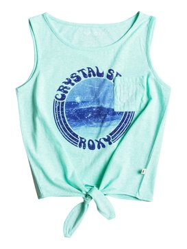 Keys Boarder Kelia Jolie - Knotted Vest Top  ERGZT03177