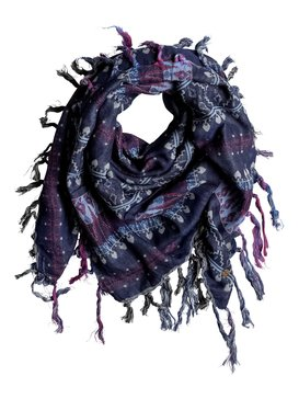 Easy Blues - Square Scarf  ERJAA03159