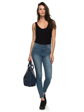 Night Spirit A - High Waisted Skinny Fit Jeans  ERJDP03162