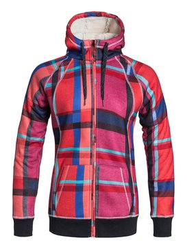 Resin Bonded Sherpa -  Zip-Up Hoodie  ERJFT03149