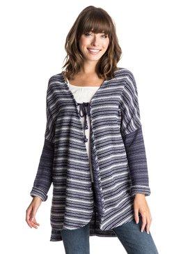 Caloundra - Tie-Front Sweatshirt  ERJFT03213