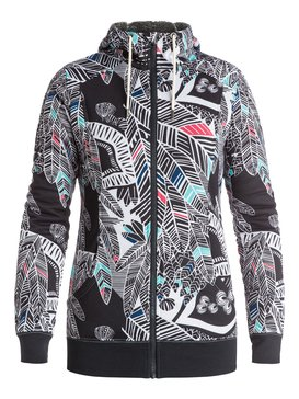 Frost Printed - Zip-Up Technical Hoodie  ERJFT03313