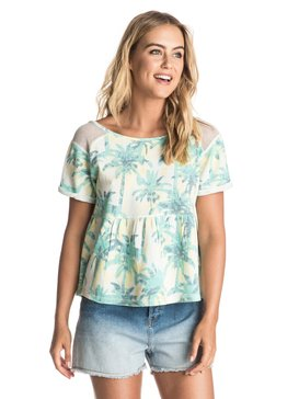 Alaia Ride Printed - Empire-Line Top  ERJFT03472