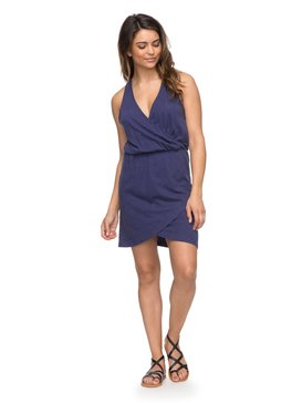 Ocean Skyline - Wrap Dress  ERJKD03159