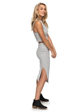 Away From The City - Midi Bodycon Skirt  ERJKK03017