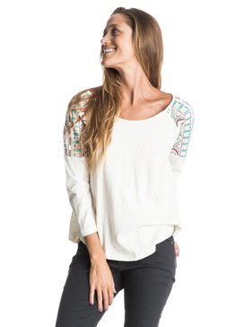 Tell Me Why Raglan - 3/4 Sleeve Top  ERJKT03159