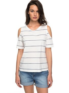 Uptown Sun - Cold Shoulder T-Shirt  ERJKT03358